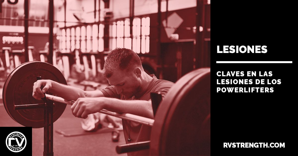 Lesiones powerlifters