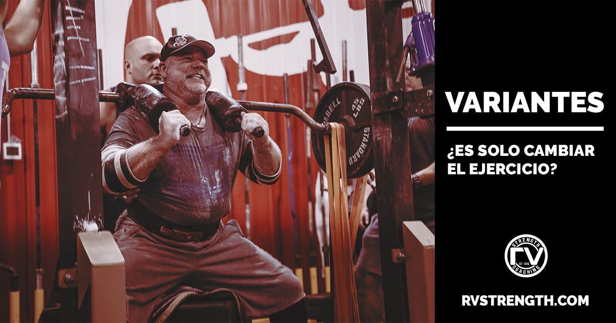 Variantes ejercicios POWERLIFTING