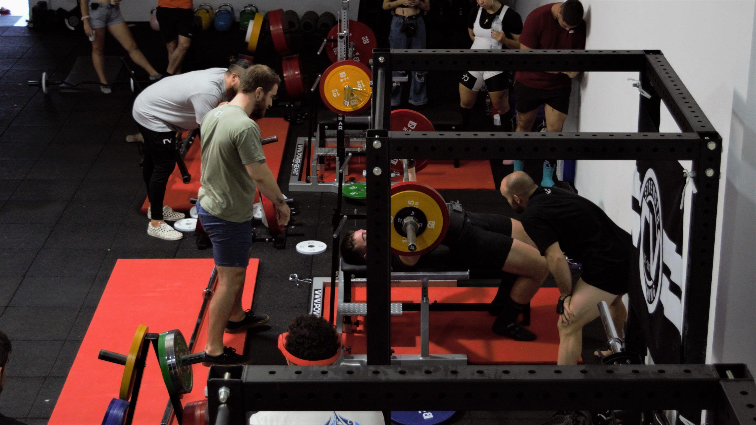 competición gym rv strength